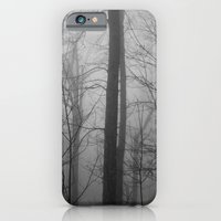 iPhone & iPod Case featuring Foggy Forest by Jillian Schipper