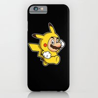 iPhone & iPod Case featuring Pika Suit by adho1982