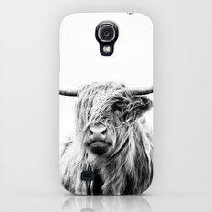 portrait of a highland cow Galaxy S4 Slim Case