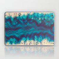 Blue Agate River of Earth Laptop & iPad Skin