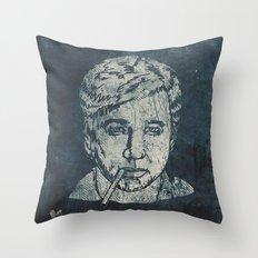 Bill Hicks Throw Pillow