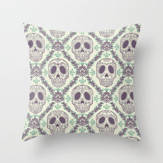 Viva la muerte! Throw Pillow