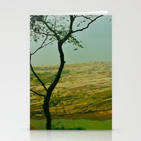 Stationery Card featuring peaceful place by RAIKO IVAN雷虎