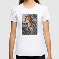 My Precious | Collage Womens Fitted Tee Ash Grey SMALL