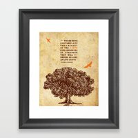 Strength Framed Art Print