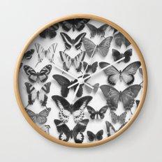 Wings II Wall Clock