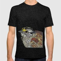Rainbow Bird Mens Fitted Tee Tri-Black SMALL