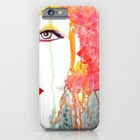 Angry Girl iPhone 6 Slim Case