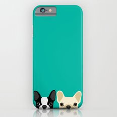 Boston Terrier & French … iPhone 6 Slim Case