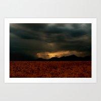 Rain of Light Art Print