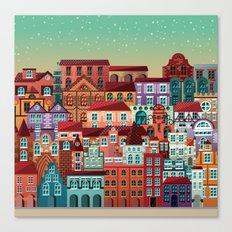 Homes Canvas Print