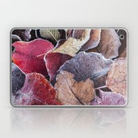 frosty ground cover Laptop & iPad Skin