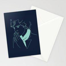 sherlock h Stationery Cards