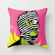 Fink (The Network) Throw Pillow