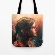 Tote Bag featuring Cordyceps by Alice X. Zhang