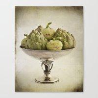 Eat more vegetables Canvas Print
