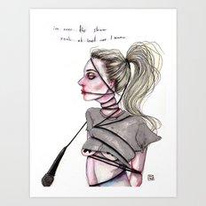 Perfect Illusion Art Print