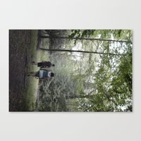 Beach Lake  Canvas Print