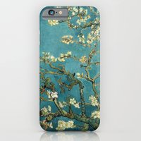 iPhone Cases featuring Van Gogh - Blossoming Almond Tree by TilenHrovatic