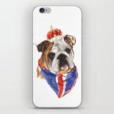 Thank you LONDON - British BULLDOG - Jubilee Art iPhone & iPod Skin