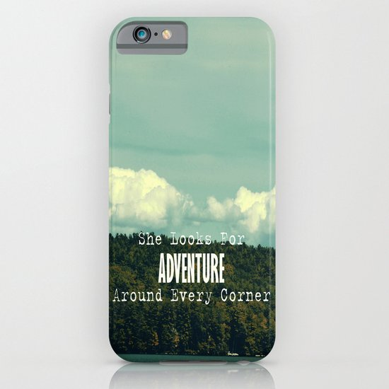 She Looks for Adventure  iPhone & iPod Case