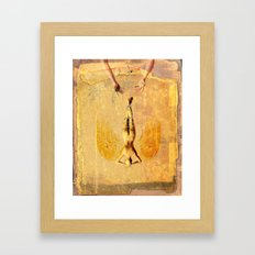 Tarot Series: The Sun Framed Art Print