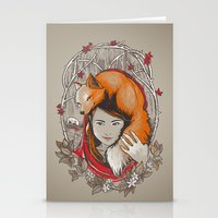 Safe In My Red Riding Ho… Stationery Cards
