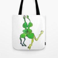 Lesbian Space Alien Seek… Tote Bag