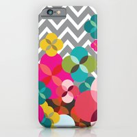 iPhone & iPod Case featuring Chevron Blooms by Michelle Nilson