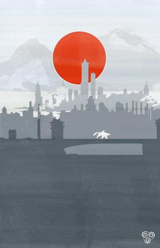 Avatar - Air Book Canvas Print