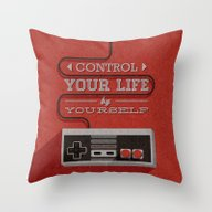 Control Your Life By You… Throw Pillow