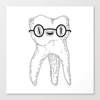 wisdom tooth Canvas Print