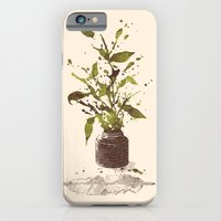 iPhone Cases featuring A Writer's Ink by Norman Duenas