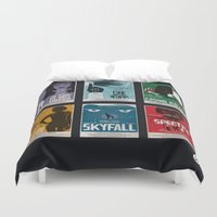 Bond #4 Duvet Cover