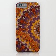 Color Me Autumn Kaleidoscope Mandala  iPhone 6 Slim Case