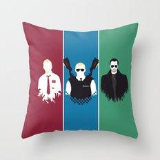 Blood & Ice Cream Throw Pillow