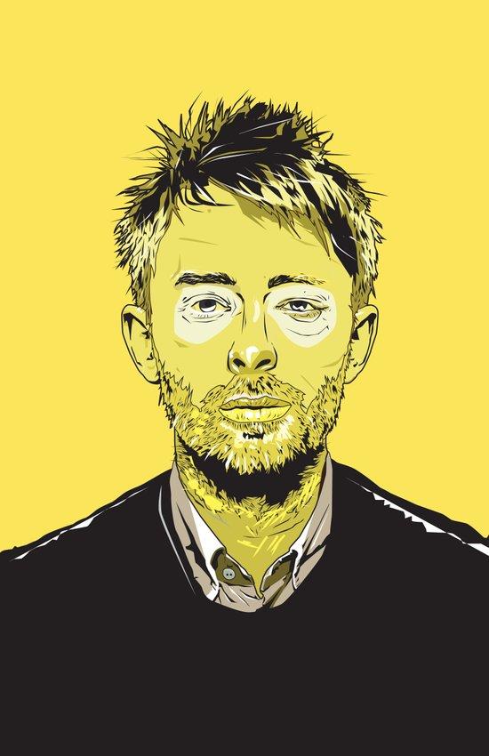 Thom Yorke Art Print