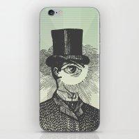 Eyeliner iPhone & iPod Skin