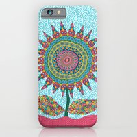 iPhone & iPod Case featuring Fabby Flower-Eden colors by Groovity