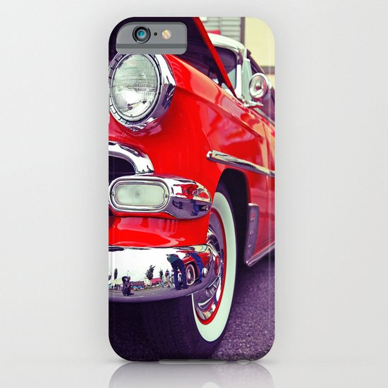 Classic red iPhone & iPod Case