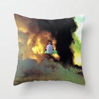 Sensory Ancestor Throw Pillow