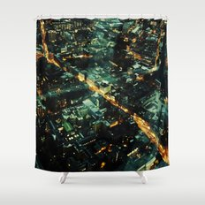 72 Floors Up Shower Curtain