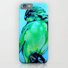 Kakariki - The NZ Red-Crowned Parakeet iPhone 6s Slim Case