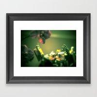 Opti Love Framed Art Print
