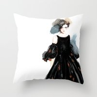 Chanel 2 Throw Pillow