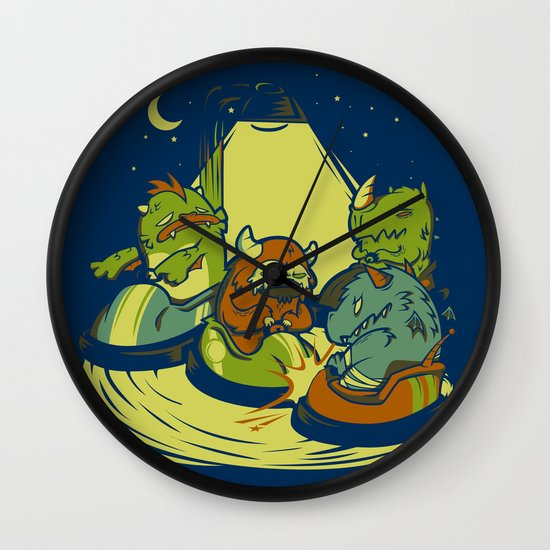 Things that go Bump in the Night Wall Clock