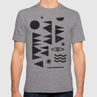 Tangential Paralysis. Mens Fitted Tee Athletic Grey SMALL