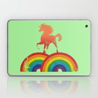 Double rainbow Laptop & iPad Skin