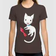 T-shirt featuring Cat And Fish by Freeminds