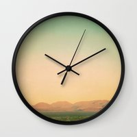 In The Pink Of Dawn Wall Clock